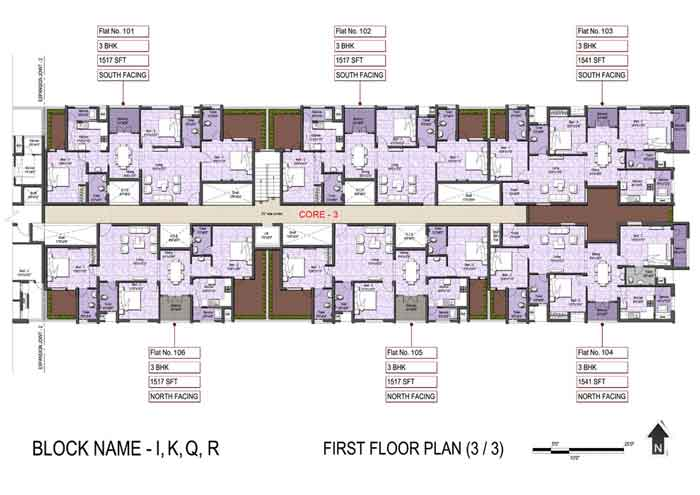 First Floor plan(3-3)