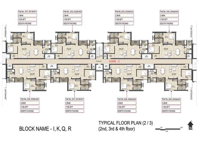 Typical Floor Plan(2-3)