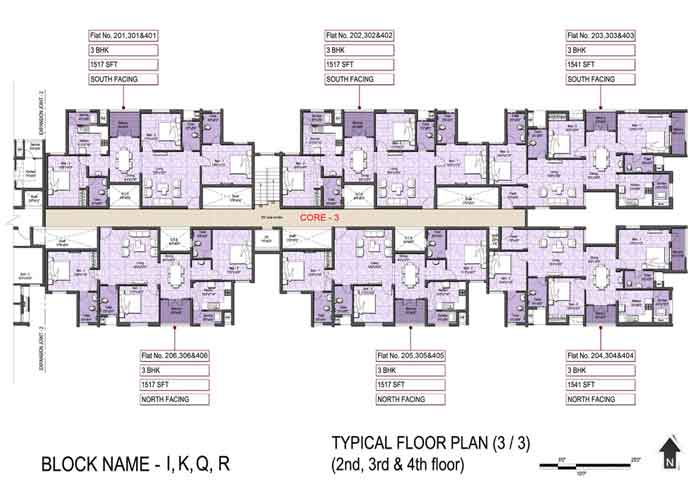 Typical Floor Plan(3-3)
